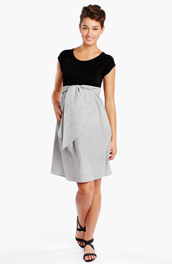 Maternal America Maternity Scoop Neck Dress | Nordstrom