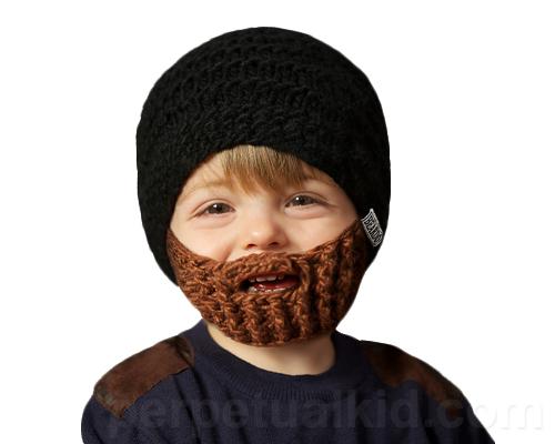 BEARD HAT FOR KIDS- BLACK H...