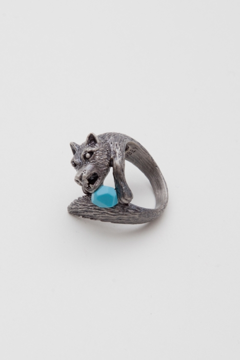 LONE WOLF RING