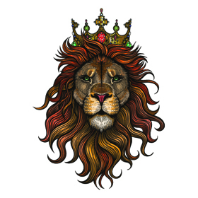 Detailed King Lion Tattoo Tattapic Shoplinkz Animal Tattoos