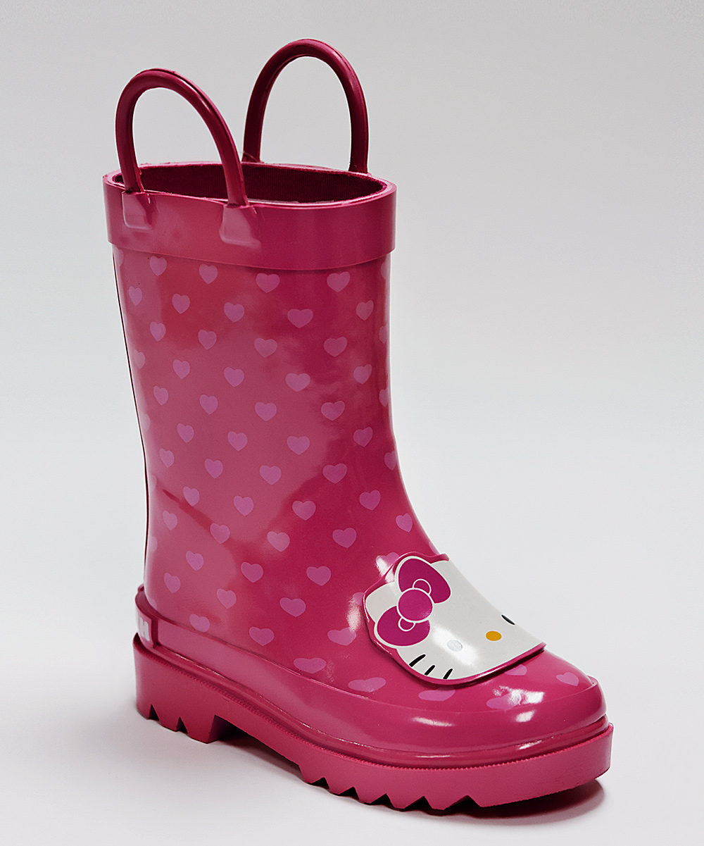 Cool Western Chief 39Hello Kitty  Cutie Dot39 Rain Boot Walker Toddler