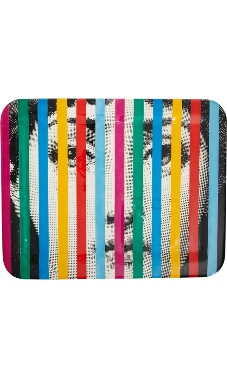Fornasetti Face and Stripes...