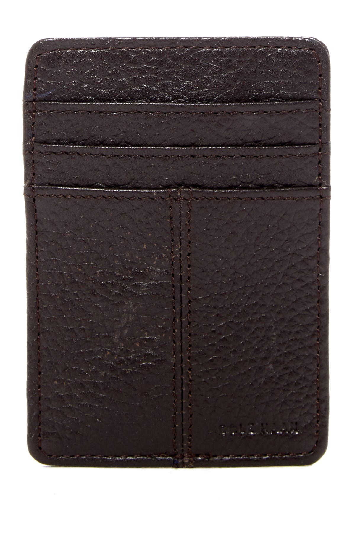 Cole Haan Front Pocket Leat...