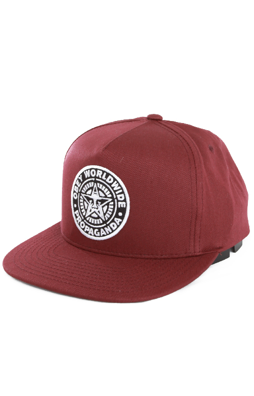 OBEY, Classic Patch Snap-Back Hat