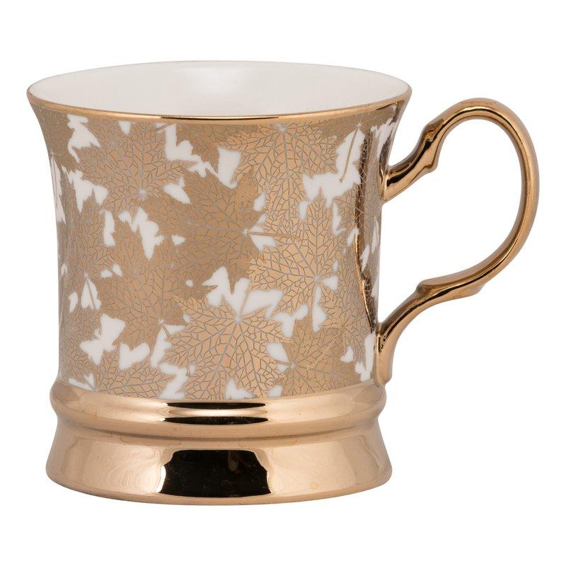 Sammy Harvest Leaf Coffee Mug