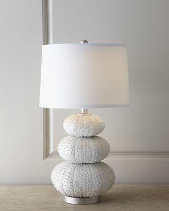 """Stacked Sea Urchin"" Lamp -..."