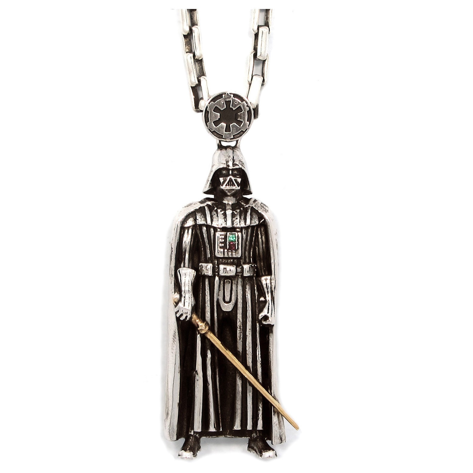 Han Cholo Stainless Steel Star Wars Darth Vader Pendant