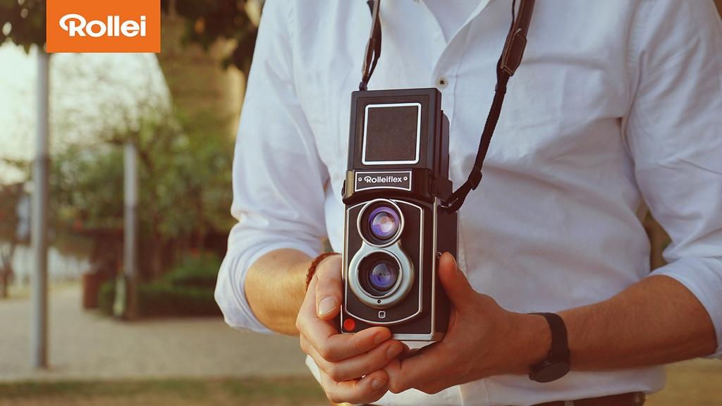 Rolleiflex™ Instant Kamera