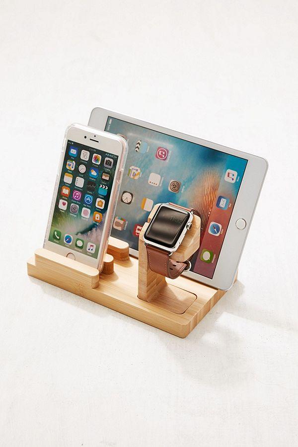 Wooden Multi-Device Chargin...