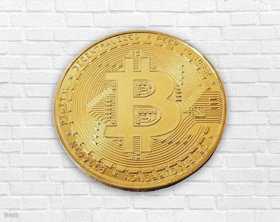 Bitcoin Gold Coin Physical ...