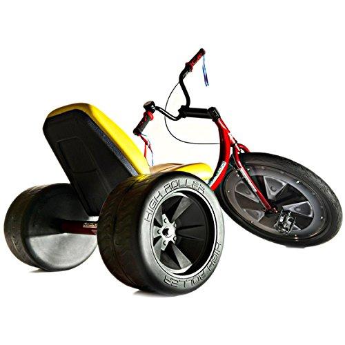 Big Wheel for Adults - High Roller Premium Adult Size Big Wheel Trike