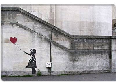 Banksy There Is Always Hope...