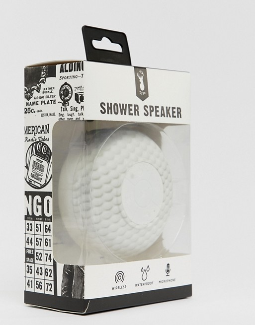 Typo Golf Ball Shower Speaker