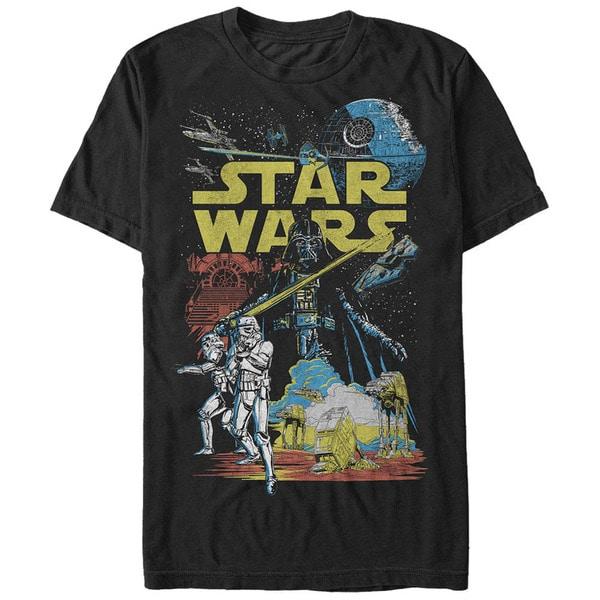 Star Wars Rebel Classic Black T-Shirt