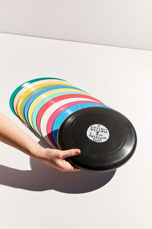 David Shrigley Record Frisbee