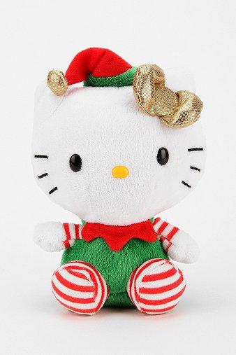 Hello Kitty Elf Plush Figure
