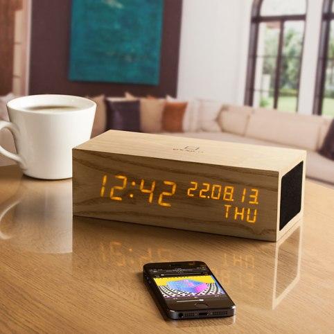 Bluetooth Click Clock