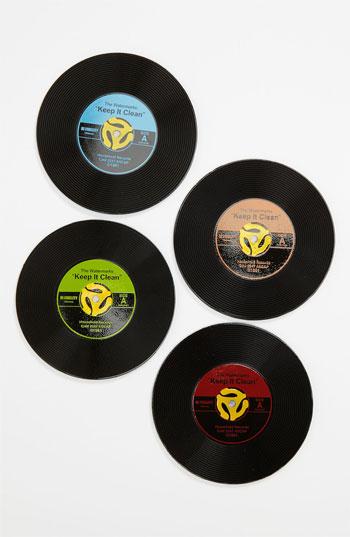 45 Record Coasters (Set of ...