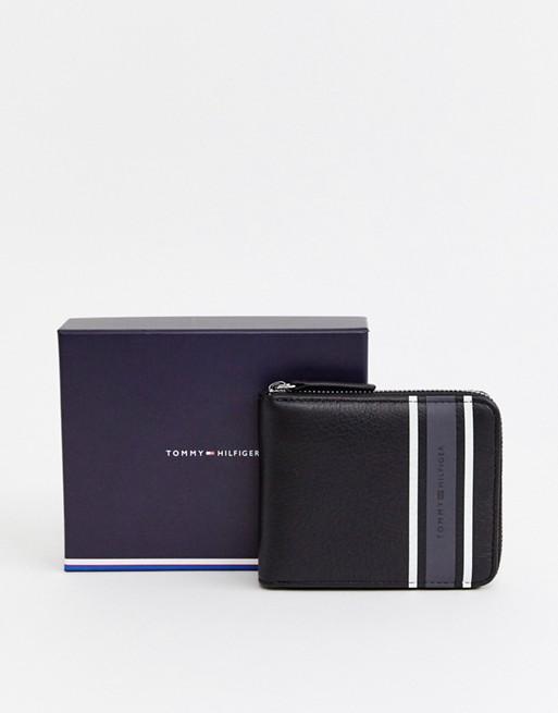 zip around wallet with grey...