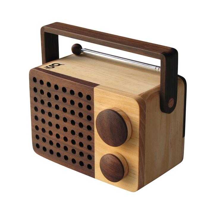 Magno Micro Wooden Radio MiKRO