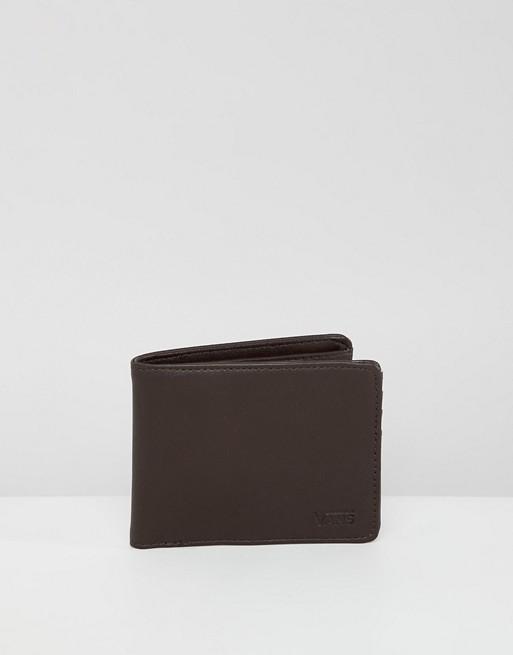V wallet in Brown VN0A31J8DRB1