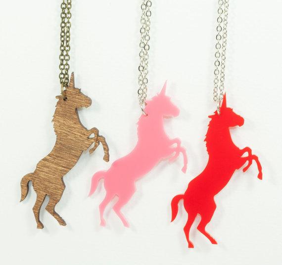 Unicorn Necklace - Handmade...