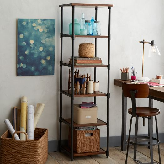 Pipe Bookcase - Narrow | We...