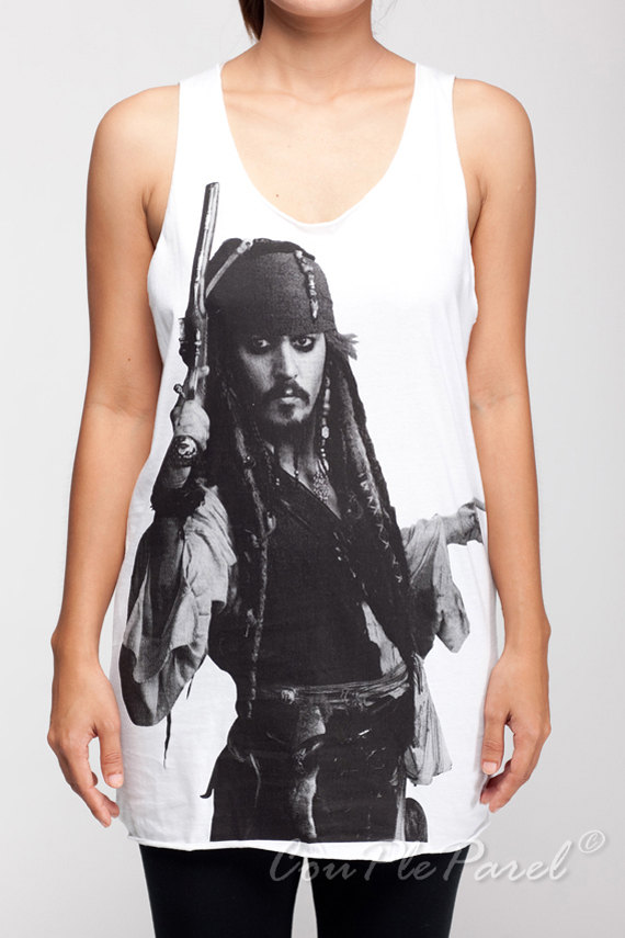 Johnny Depp Tank Pirates of...