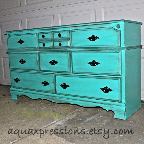 Bayside Blue Vintage Dresse...