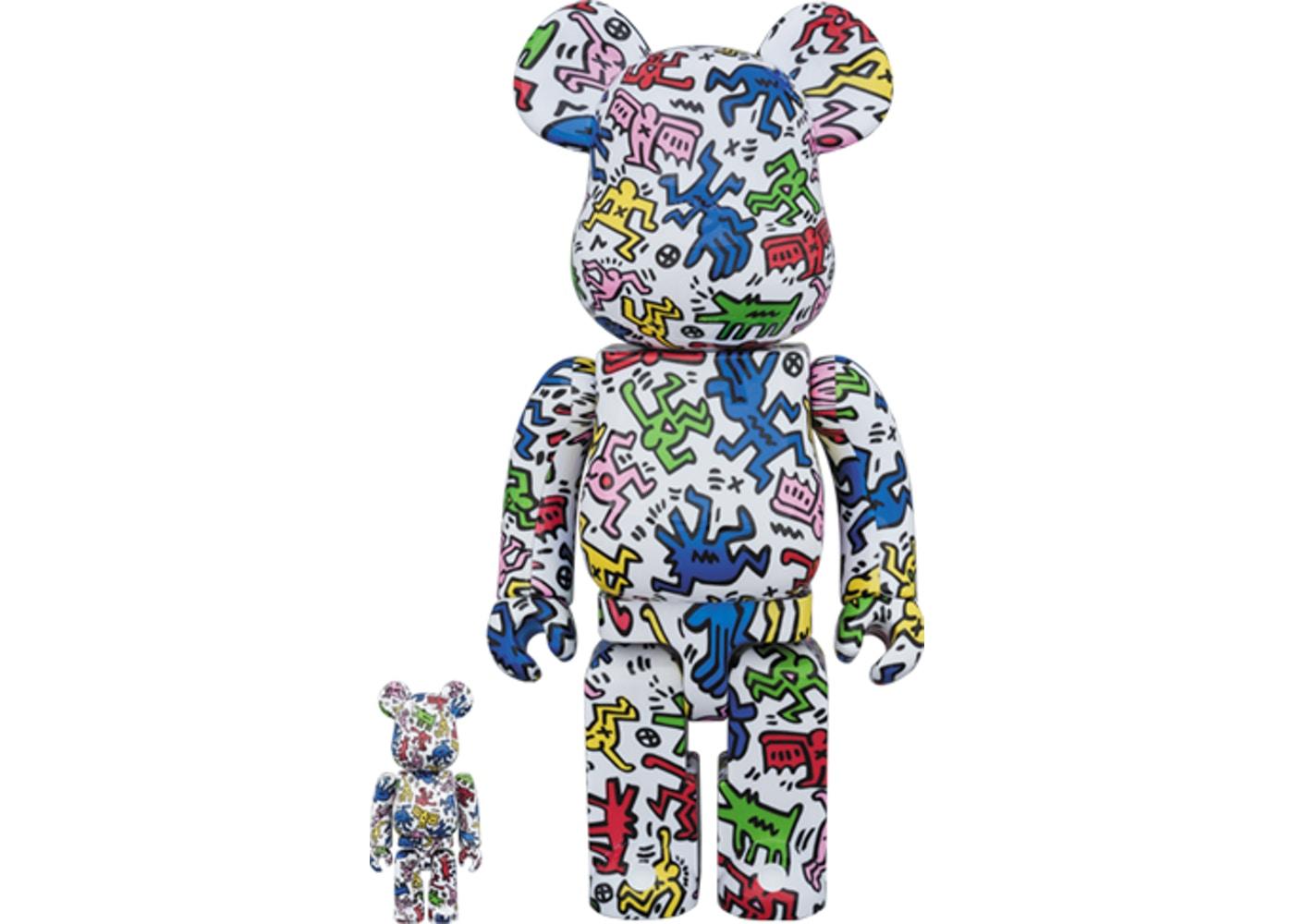 Bearbrick Keith Haring 100%...