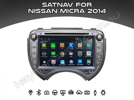 SatNav for Nissan Micra 2014